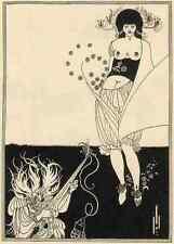 Aubrey Beardsley Stomach A4 Print