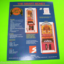 SHOOT TO WIN BASKETBALL By SMART ORIGINAL NOS ARCADE GAME SALES FLYER BROCHURE