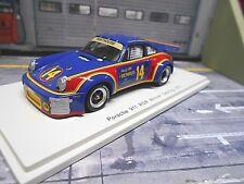 PORSCHE 911 Carrera RS 3.0 Winner Sebring 1976 #14 Sunoco Holbert Ke Spark 1:43
