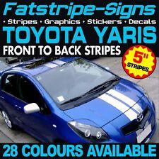 TOYOTA YARIS STRIPES GRAPHICS STICKERS DECALS TRD XP10 XP90 XP130 XP150 VITZ