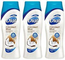 Dial Moisturizing Body Wash - Coconut Milk - 12 HR Moisture Release - Net Wt. 16