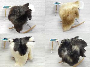 Real Sheepskin Rug Genuine Icelandic Sheep Skin Hide Throw Chair Sofa Cover