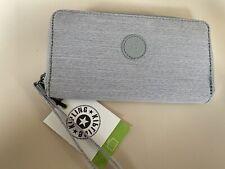 Kipling Imali Purse Wallet Wristlet Cards RFID safe brand new grey beige peppery
