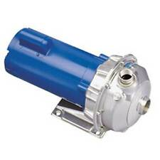 GOULDS 1ST2C5E4 316L STAINLESS STEEL PUMP, 1/2 HP, NPE SERIES