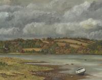 R.W. Grace - Signed 1976 Oil, Bere Ferrers, Devon
