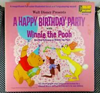A Happy Birthday Party With Winnie The Pooh (Disneyland ‎– ST 3942)