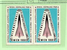 Austria Expo Internacional Correo Aéreo Viena año 1968 (CF-897A)