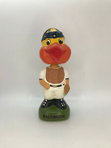 1995 Baltimore Orioles Mascot Catcher TEI Twins Enterprises Bobblehead Nodder