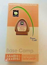 "CRICUT Font Cartridge ""Base Camp"" Complete w/Keyboard Overlay + Manual"