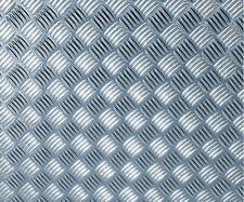 d-c-fix Folie, Riffelblech silber glänzend, selbstklebend, 90 x 150 cm, 340-5060