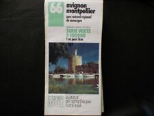 Carte IGN 67 marseille carpentras 1990