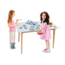 Children's Pretend Toy Deluxe Afternoon Tinplate Tea Set & Tea Tray-Green Flower