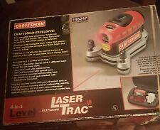 Craftsman 4-in-1 Laser Trac Level with zippered case 948251