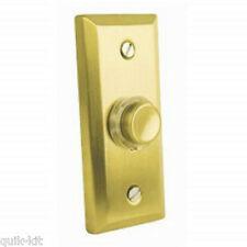 Eterna FBPLSB Illuminated Wired Door Bell Push (Satin Brass)