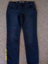 Junior Girls SO Skinny Jeans Size 13 Blue Denim 82% cotton,17% poly,1%spa