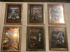 1995 Coors Nature Series Mirrors. Complete Set Of 6! Wicked Rare New Old Stock!
