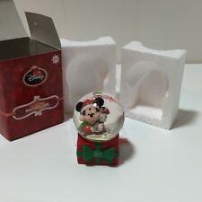 NEW 2013 DISNEY MICKEY MOUSE SANTA USO WISHBOOK COLLECTIBLE MINI SNOW GLOBE