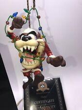 Goebel Looney Tunes Spotlight Taz And To All A Good Bite Coa Figurine Only