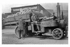 pt5494 - Robin Hood , George Armitage & Sons Steam Lorry , Yorkshire - photo 6x4