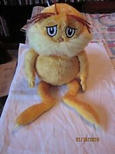 "Kohl's Cares LORAX  Dr. Seuss 2005 14"" Plush"