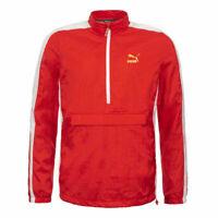 Puma T7 Bboy Track Jacket Mens Outdoor Windbreaker Red 574979 42