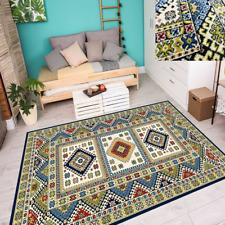 Teppich Top Modern Trendige Farben Retro Look Design Nordisch Creme 6 Größen