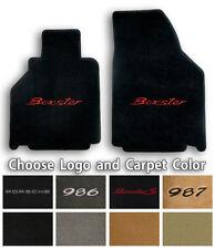 Porsche Boxster Ultimats Carpet 2pc Floor Mat Set - Choose Color & Logo