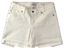 Kenneth Cole  Women's White Jean Shorts Size 8