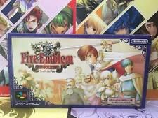 Super Famicom Fire Emblem Thracia 776 SFC Nintendo Game Soft
