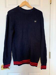 Pacsun Navy Blue Knit Sweater Mens Size S