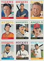 2013 Topps Heritage Baseball SP Short Print You Pick the Card Finish Your Set