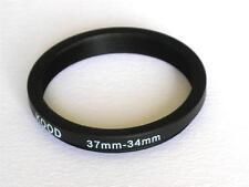 Step Down Adaptador 37mm-34mm anillo de refuerzo 37 a 34 Mm 37-34 Anillo Step Down