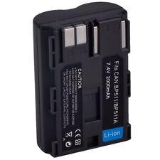 1X Bp-511 Bp-511A Batteria Per 10D 20D 30D 300D 40D 50D 5D Bp-512 Nero L9X8
