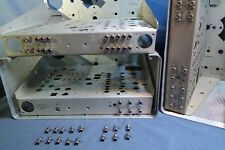 Collins Radio 75S-3 Set Replacement Nickel Plated Brass RCA Input-Output Jacks
