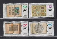 DDR484 - EAST GERMANY DDR 1990 EXHIBITS STATE LIBRARY MNH