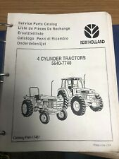 New Holland Service & Parts Manual | 5640 - 6640 - 7740 | FNH-17451 | June 1995