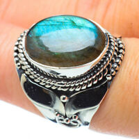 Labradorite 925 Sterling Silver Ring Size 8.25 Ana Co Jewelry R31680F