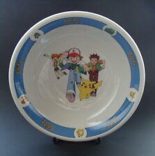 More details for x6 pokemon nintendo ash & stars cereal bowls by wade ceramics ltd