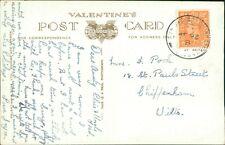 """Elsie & Fred Pook.  18 St Paul Street, Chippenham, Wiltshire """"Dear Aunty""""  AJ.14"""