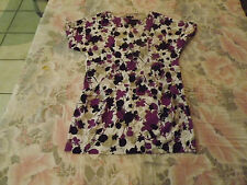 Memo Woman Striking Shift Mini Dress sz M