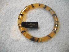 JOAN RIVERS  Fun Bangle Bracelet Animal Print Lucite?  New Great Gift Free Ship