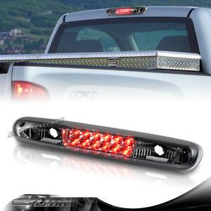 Smoke Lens LED 3rd Brake Tail Light For 2007-2013 GMC Sierra 1500/2500HD/3500HD