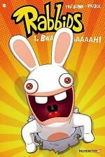 Bwaaaaaaaaaah! Raving Rabbids comic, book #1, by Thitaume and Pujol