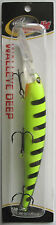 Bandit Lures  Walleye Deep Diver - 5/8 oz. - Chartreuse/Black Stripes