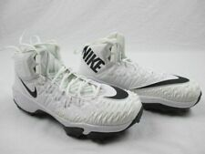 Nike Force Savage Mid Cut - White Cleats (Women's 11.5) - Used