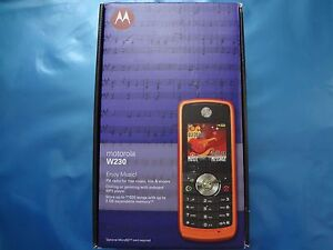 Motorola W230 - SILVER (Unlocked) Mobile Phone Factory Sealed