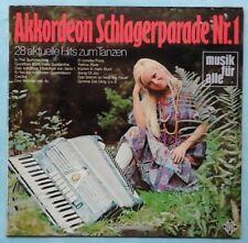 BERT LOSKA~AKKORDEON SCHLAGERPARADE Nr. 1~1970 GERMAN 10-TRACK VINYL LP RECORD