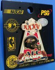 Nfl 2000 Super Bowl Xxxv Afc Champs Baltimore Ravens Collectible Psg Trophy Pin
