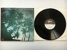 A47 - LP - ART PEPPER - LANDSCAPE - 1980 GALAXY HBS 6159 ITALY