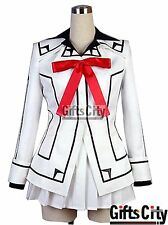 New Style VAMPIRE KNIGHT Yuki Night Class White Uniform Cosplay Costume